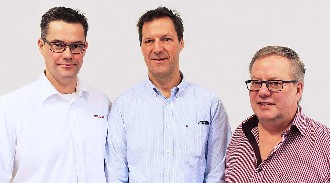Ledningsgruppen (Joakim Andersson, Jan Aschan, Anders Löthgren)